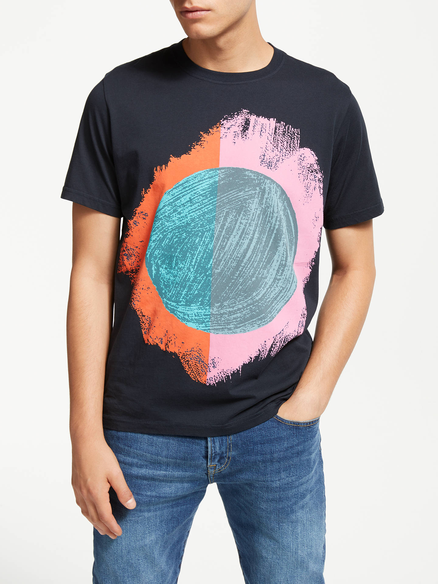 BuyPaul Smith Sun Print Tee, Multi, S Online at johnlewis.com