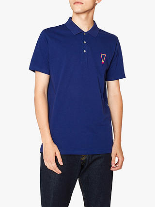 Buy Paul Smith Pendant Jersey Polo, Blue, XL Online at johnlewis.com