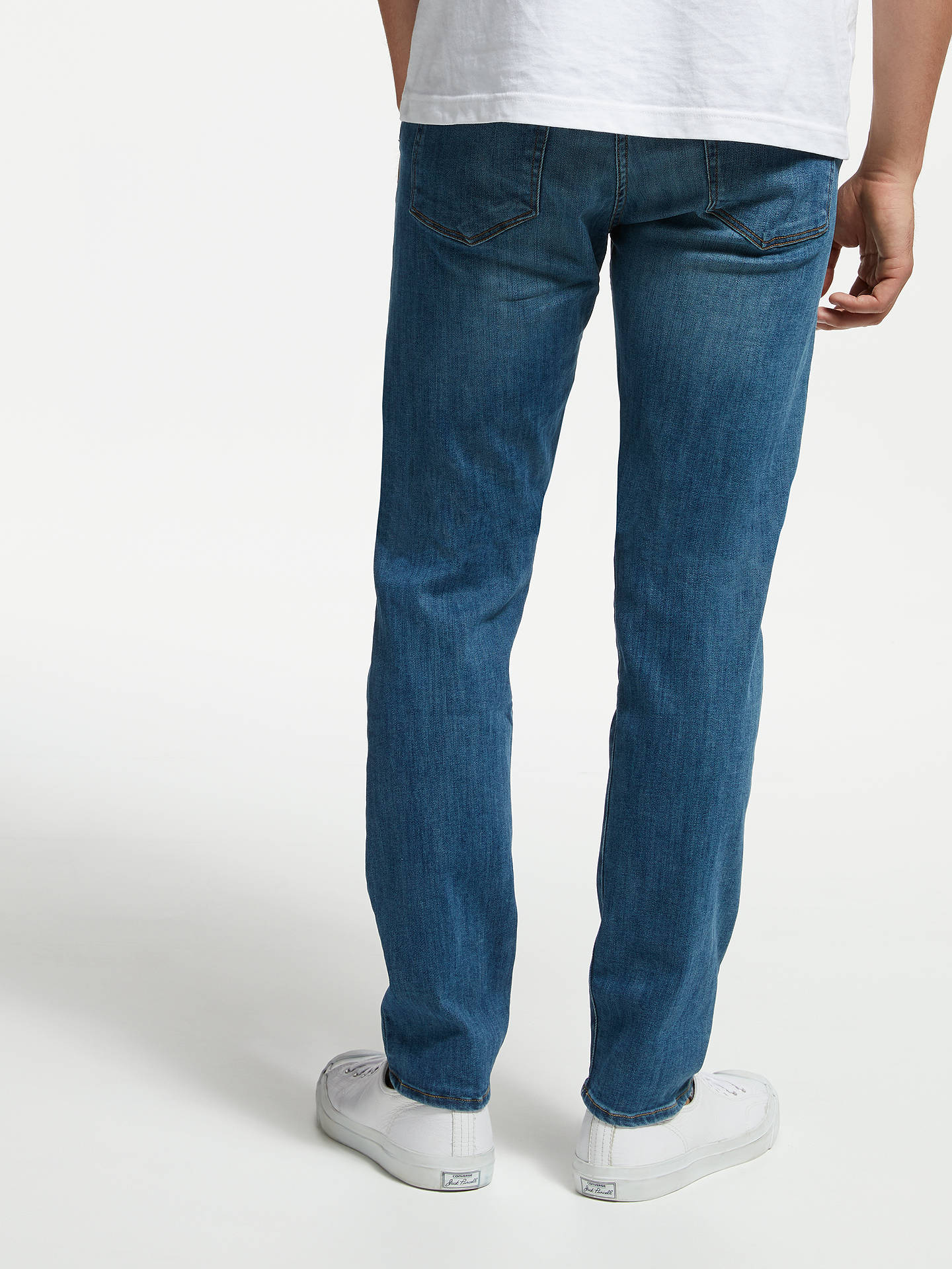 BuyPS Paul Smith Tapered Jeans, Blue, 32R Online at johnlewis.com