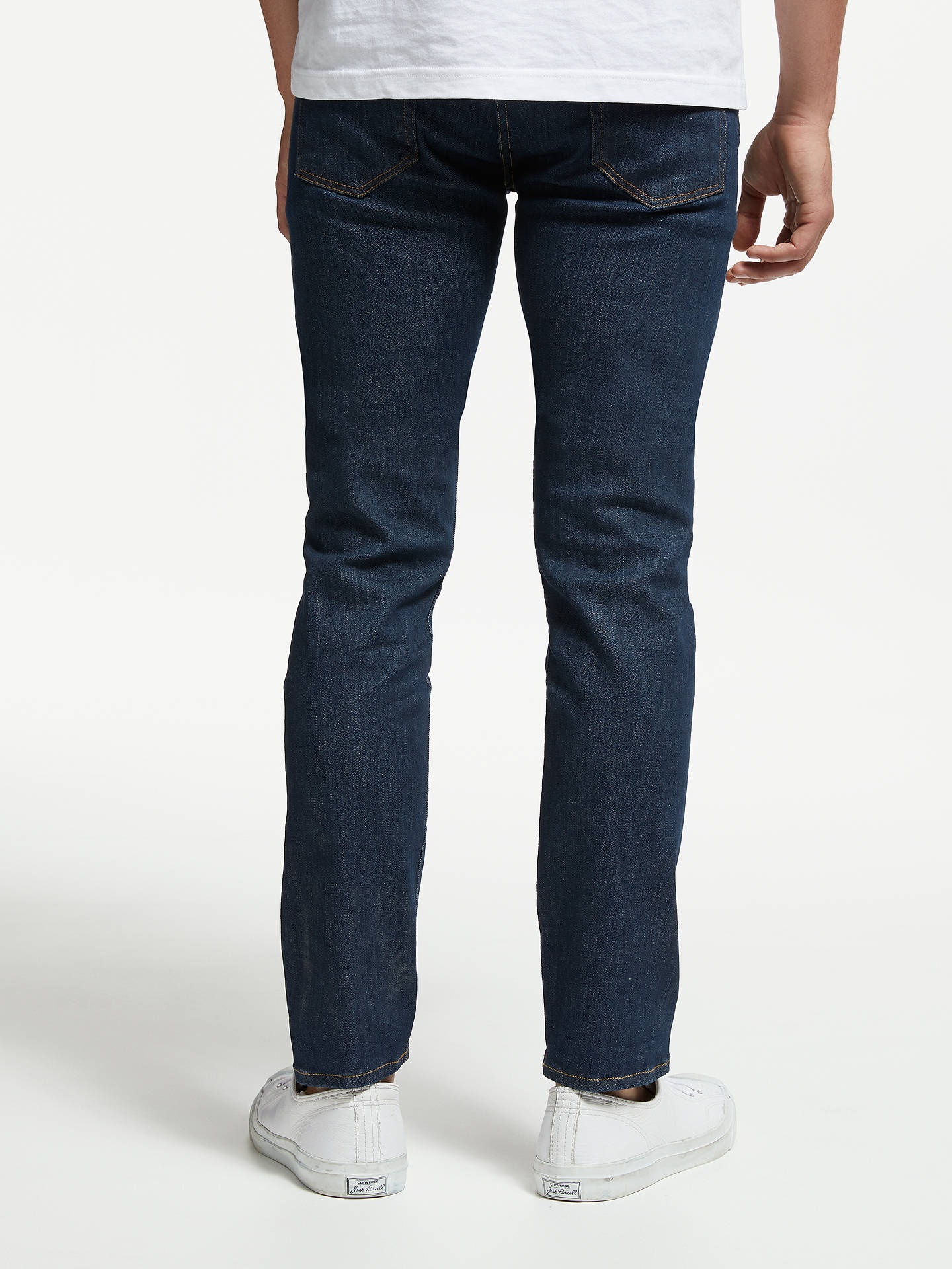 Buy PS Paul Smith Reflex Tapered Jeans, Blue, 34R Online at johnlewis.com