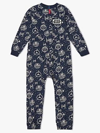 Boys nightwear pyjamas robes onesis john lewis john lewis partners boys star wars onesie ccuart Image collections