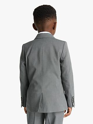 John Lewis & Partners Heirloom Collection Boys' Suit Jacket, Grey