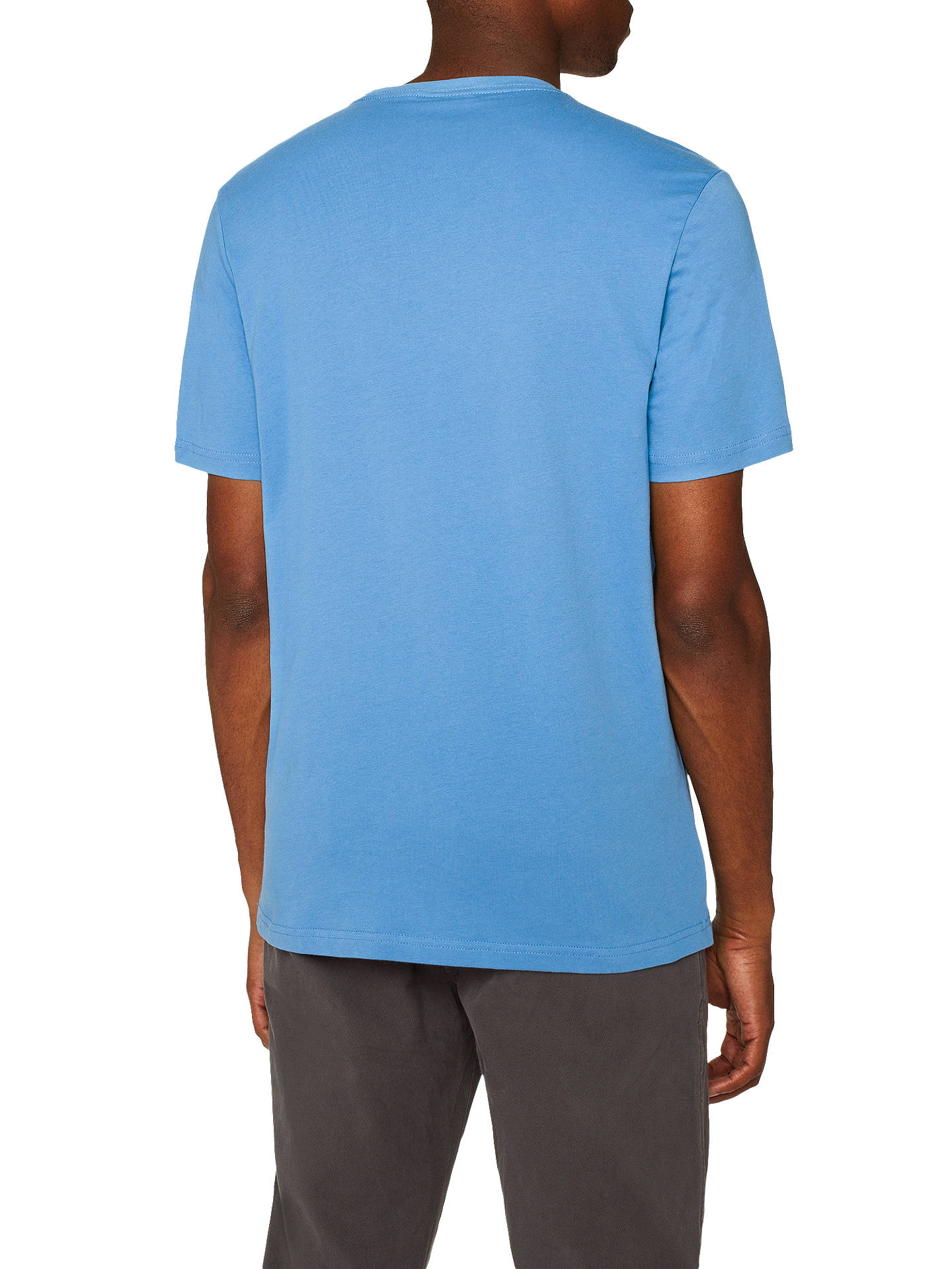 Buy PS Paul Smith Mini Zebra Crew T-Shirt, Light Blue, XXL Online at johnlewis.com