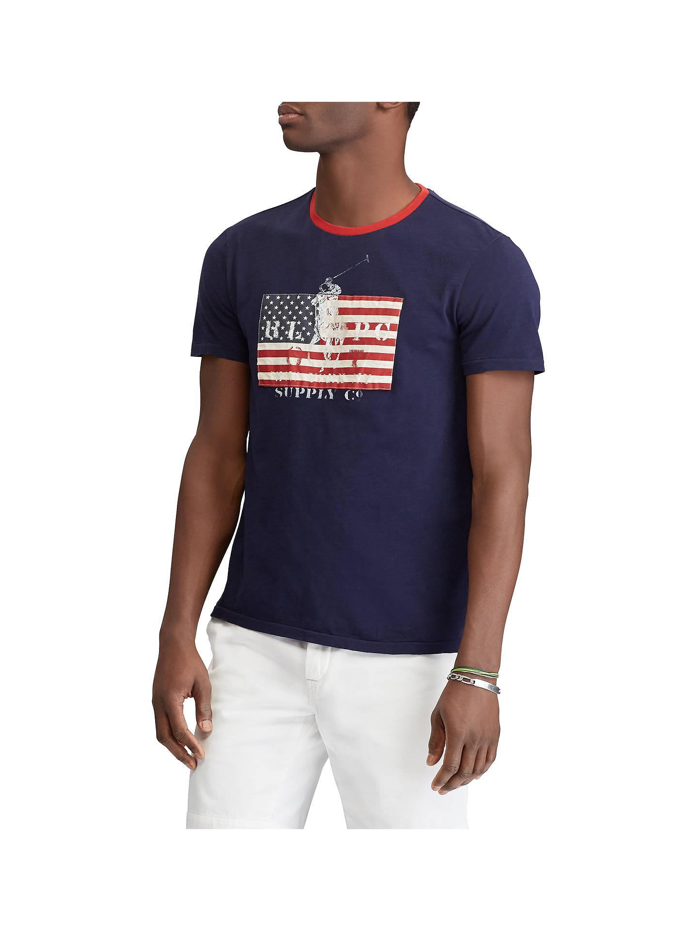 ee22a387cad5 Buy Polo Ralph Lauren Short Sleeve American Flag T-Shirt