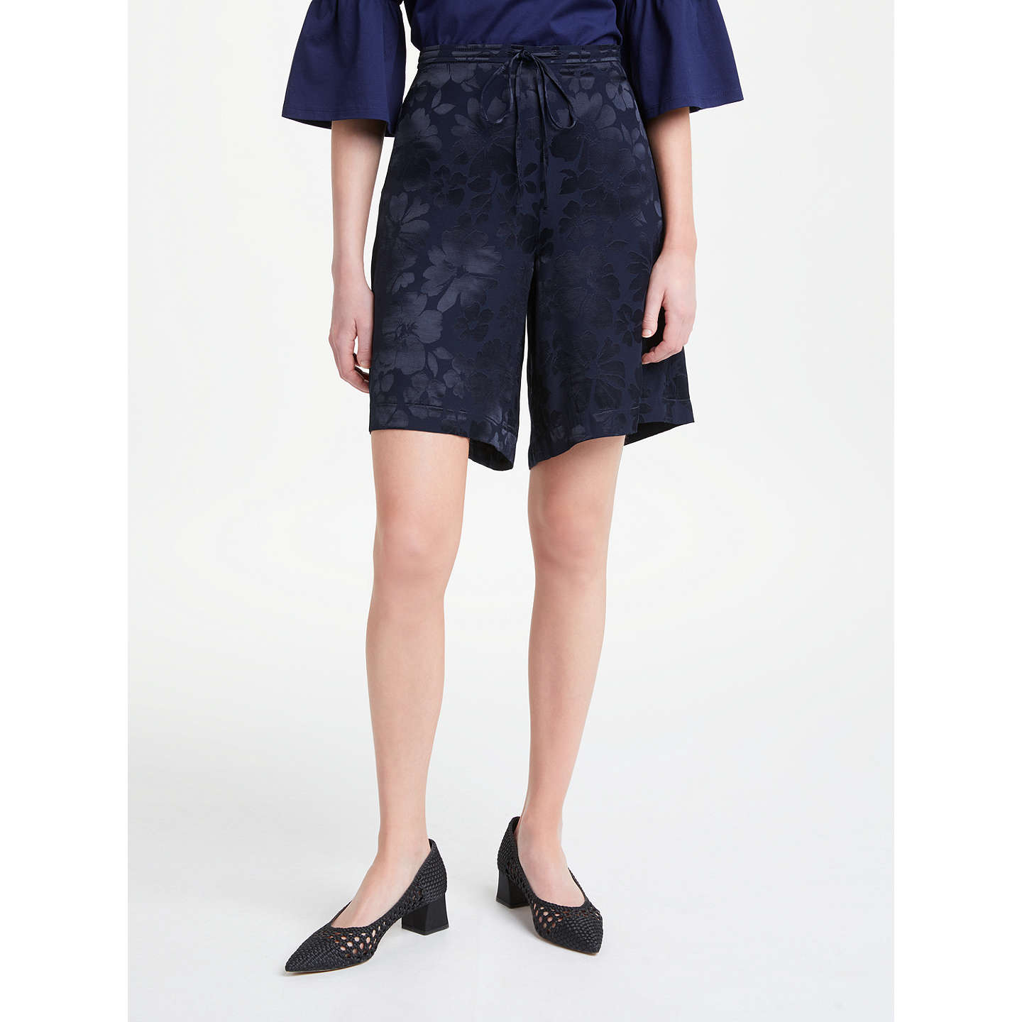 Stean Midnight Floral Jacquard City Shorts Finery wsTKXT76y4