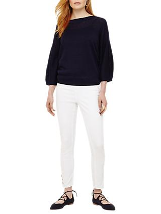 Phase Eight Bailee Balloon Sleeve Jumper, Navy