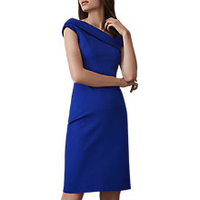 Buy Reiss Lyn Asymmetric Bardot Dress Online at johnlewis.com
