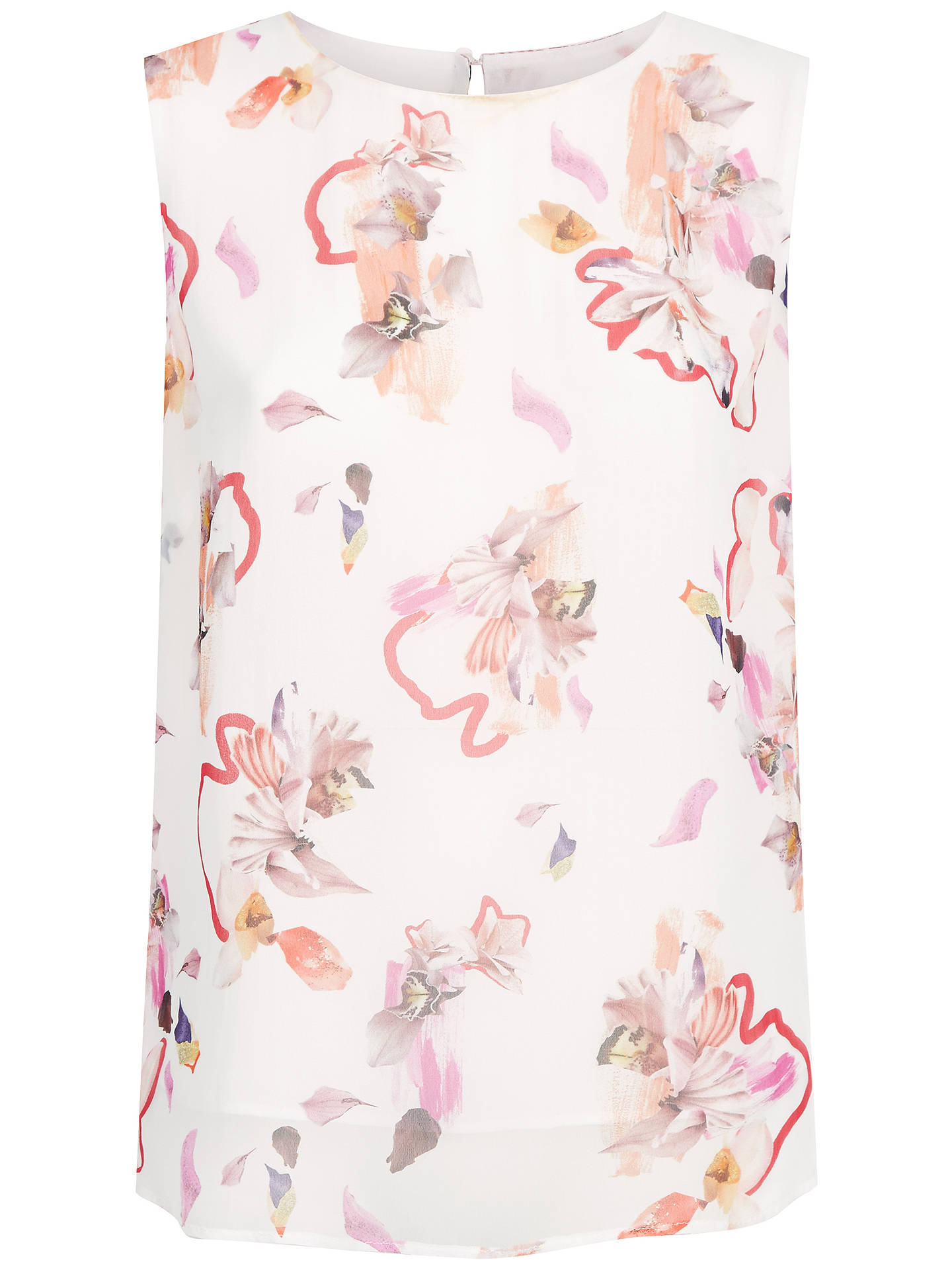 BuyFenn Wright Manson Tropicana Top, Cream, 8 Online at johnlewis.com
