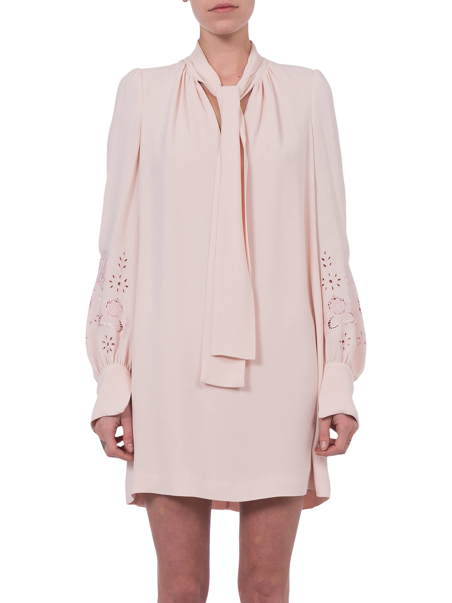 a7de6ec1d0c Buy French Connection Arimi Dress, Barley Pink, 6 Online at johnlewis.com  ...