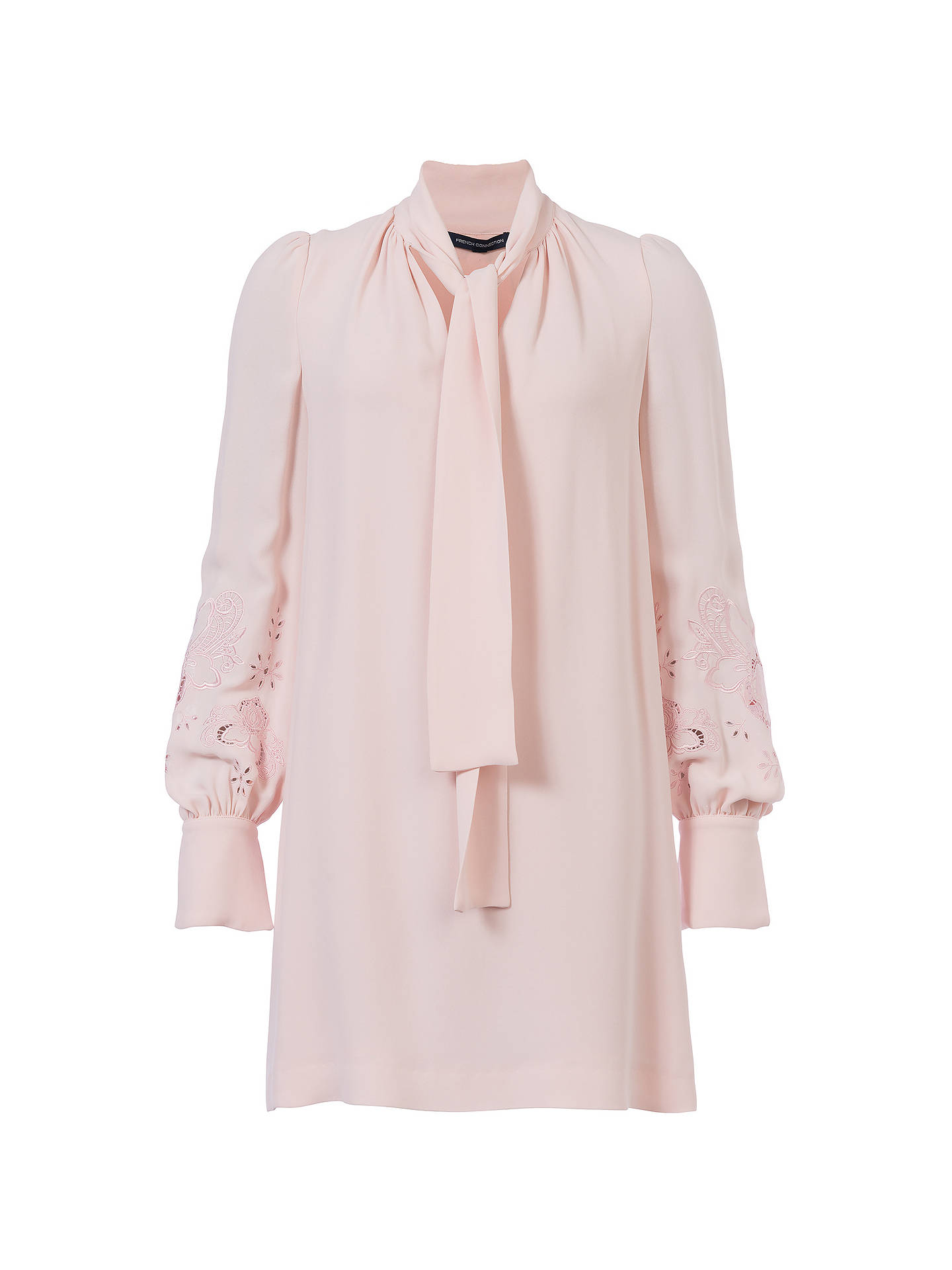61a8fbebfdb ... Buy French Connection Arimi Dress, Barley Pink, 6 Online at  johnlewis.com ...