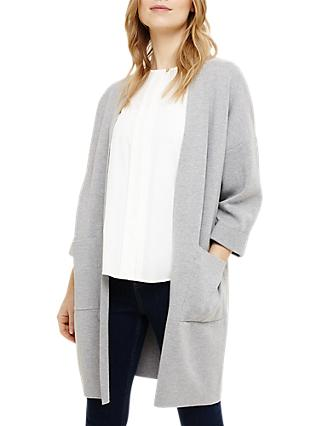 Phase Eight Carella Coatigan, Grey Marl