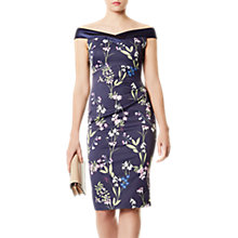 Buy Karen Millen Botanical Dress, Multi Online at johnlewis.com
