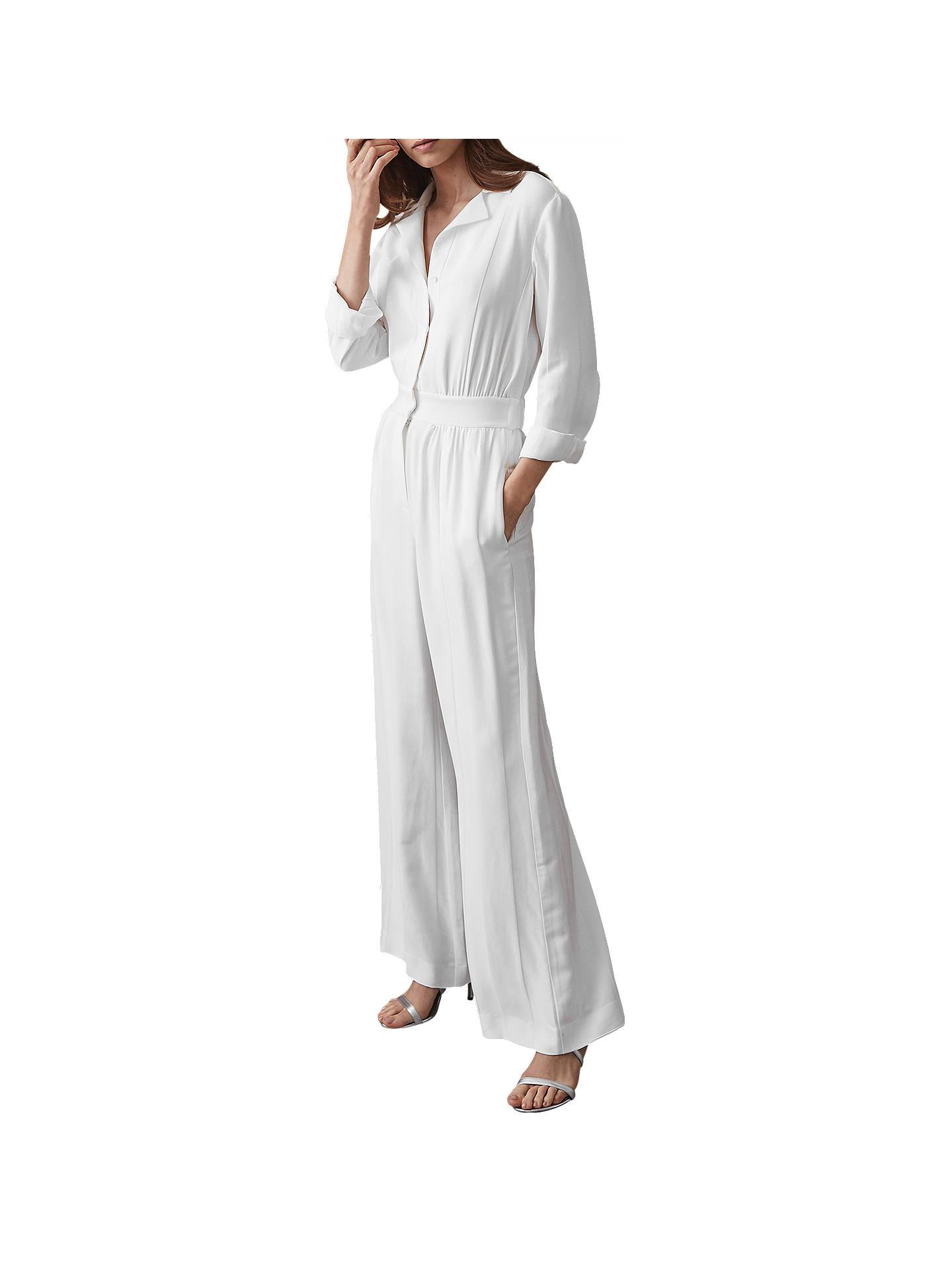 418f942c2a2 Buy Reiss Juno Wide Leg Shirt Jumpsuit