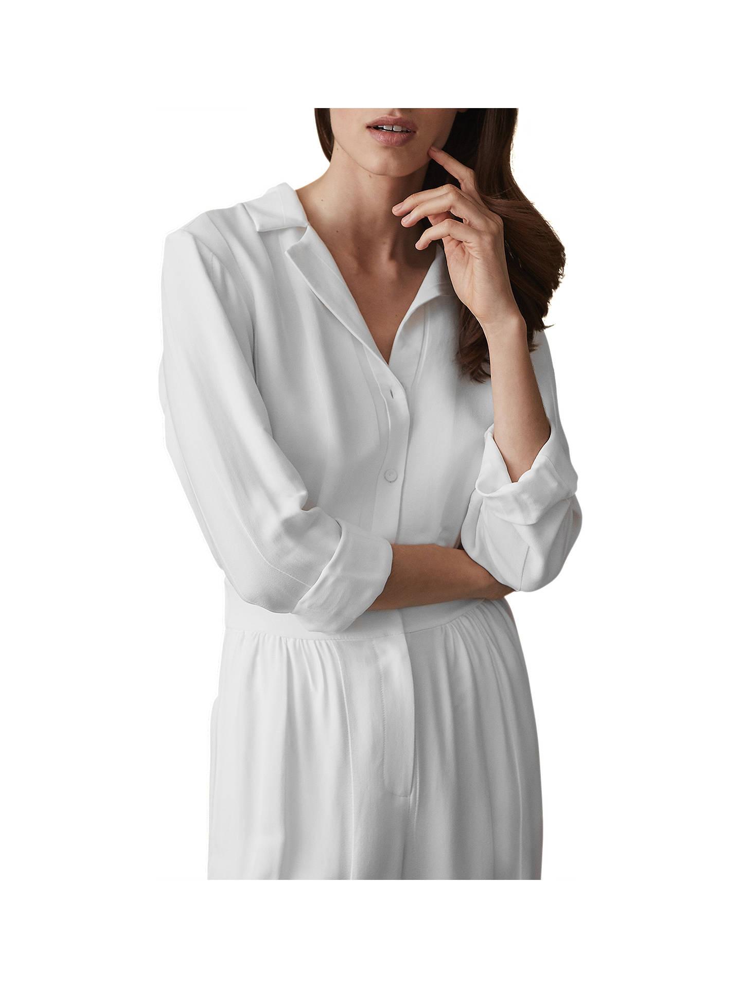 a171f8215da Buy Reiss Juno Wide Leg Shirt Jumpsuit