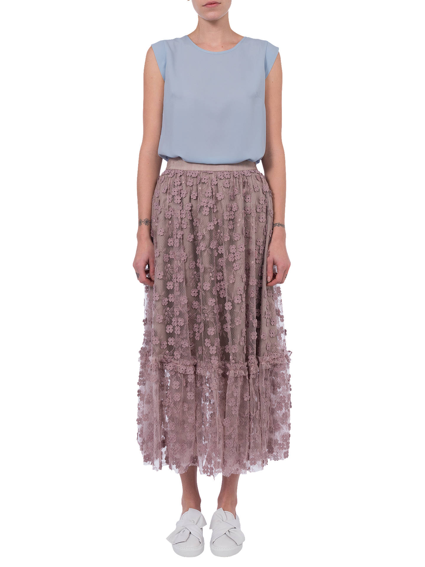 bd4fb335f Buy French Connection Caballo Flared Skirt, Multi, 6 Online at  johnlewis.com ...