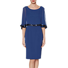 Buy Gina Bacconi Crepe Chiffon Dress Online at johnlewis.com