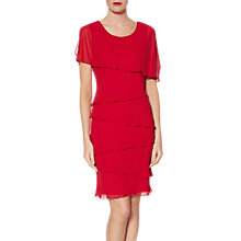 Buy Gina Bacconi Leonora Tiered Chiffon Dress Online at johnlewis.com