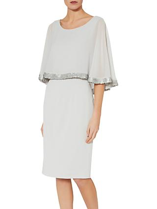 Gina Bacconi Crepe Chiffon Dress