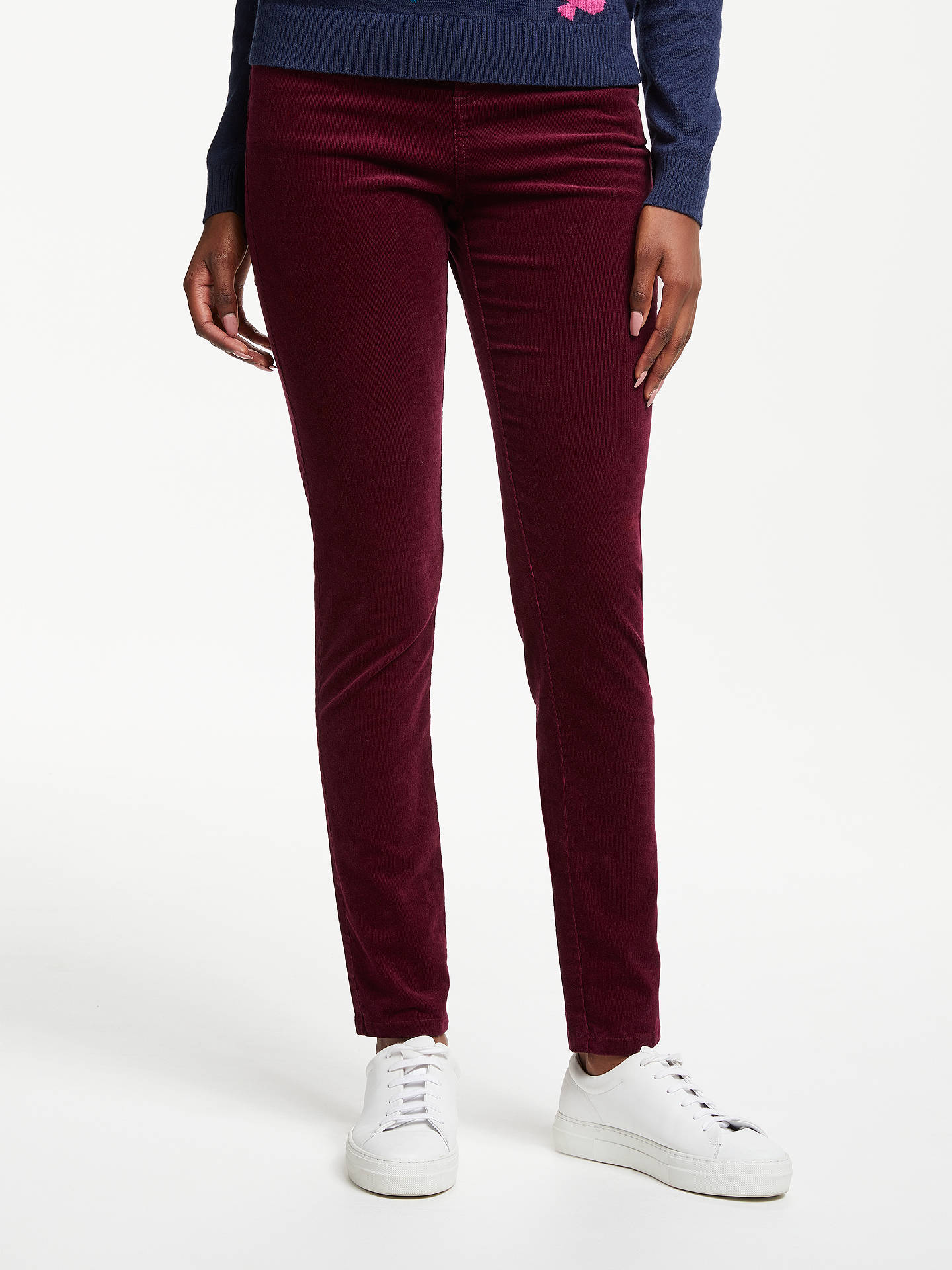 7a941e53b6af Buy Collection WEEKEND by John Lewis Liza Slim Cord Trousers
