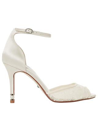 Dune Bridal Collection Matrimony Two Part Sandals, Ivory