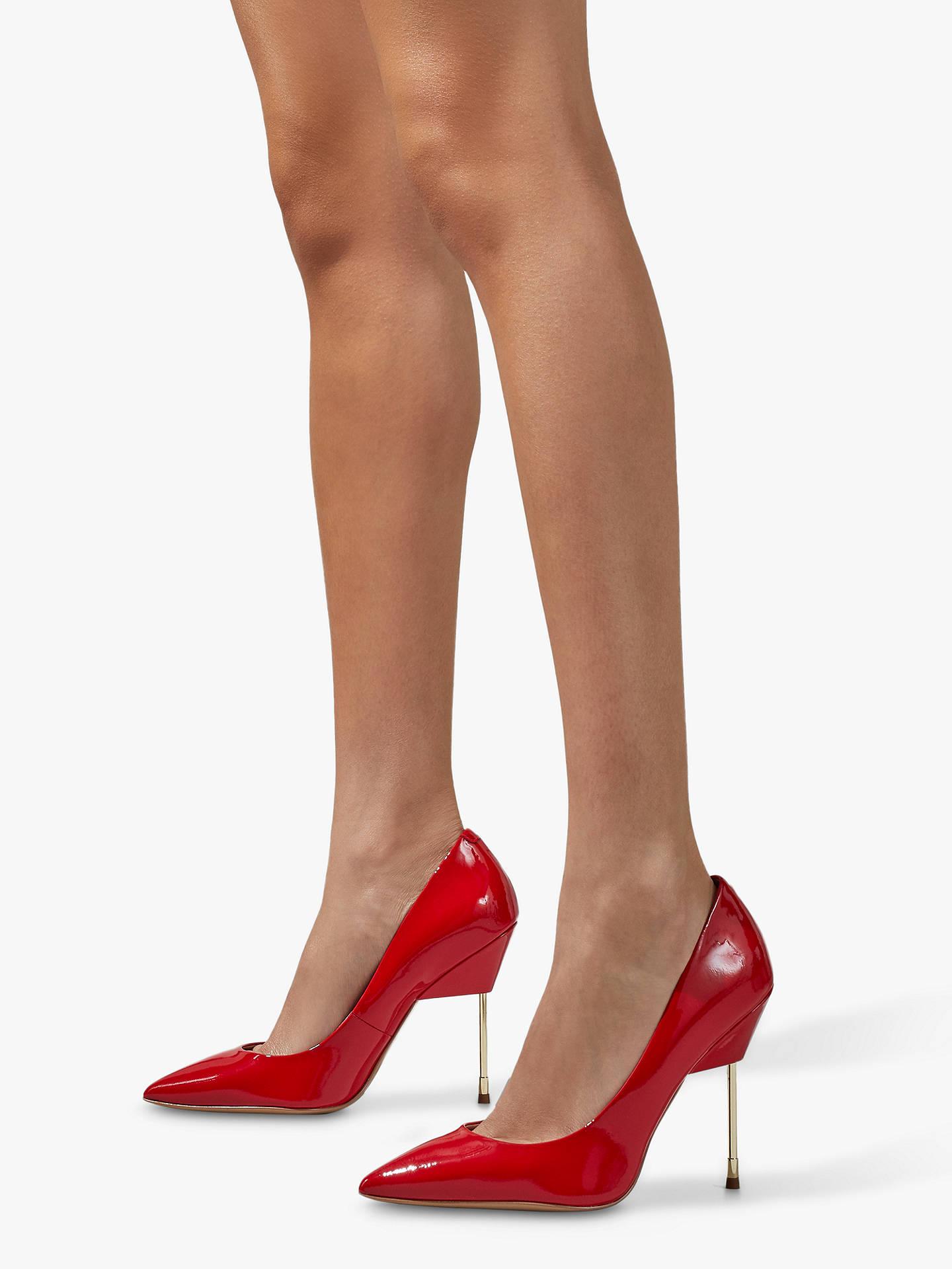 4874d2b03e1 Kurt Geiger London Britton Court Shoes, Bright Red Patent