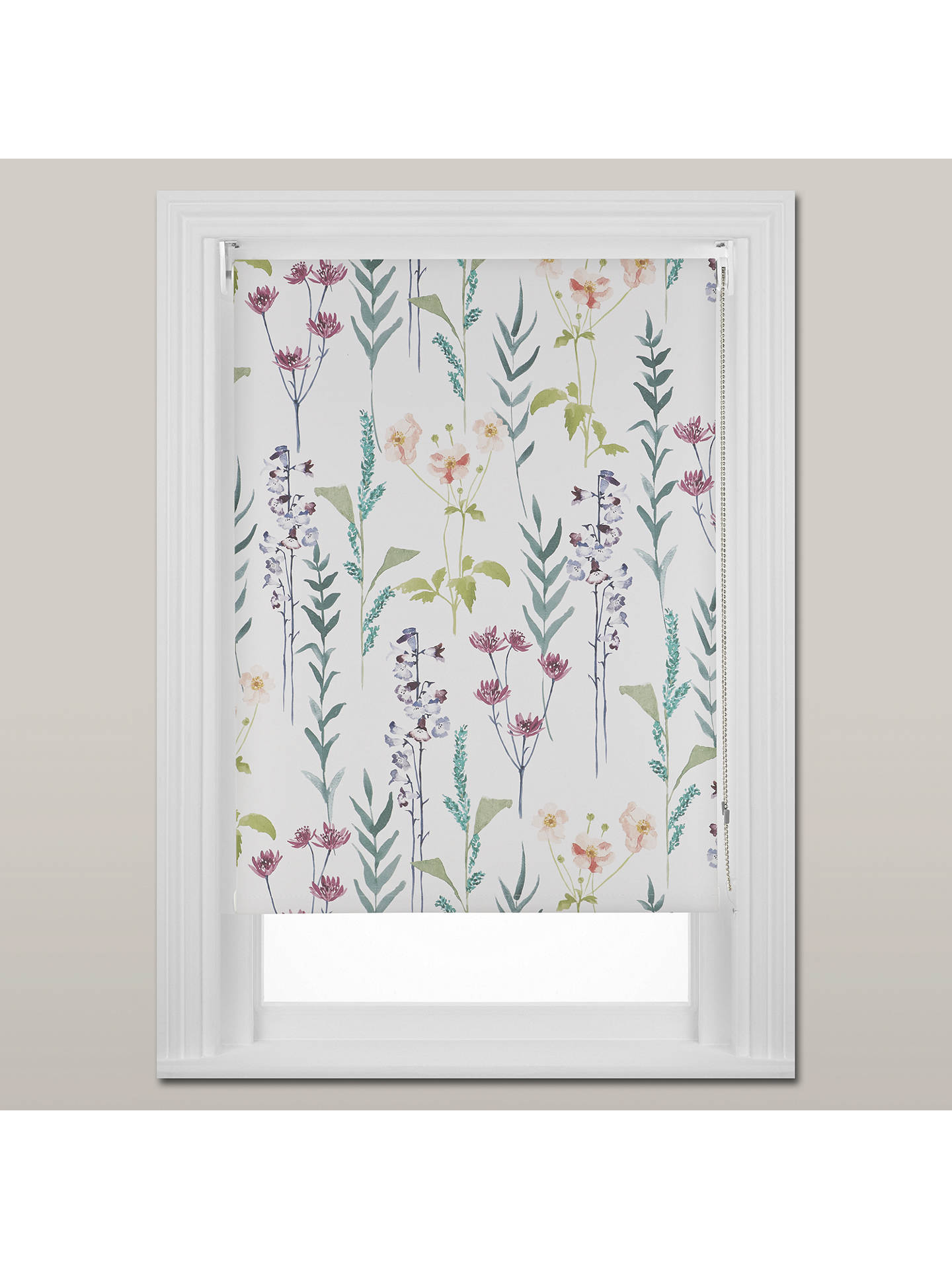 John Lewis Amp Partners Longstock Blackout Roller Blind
