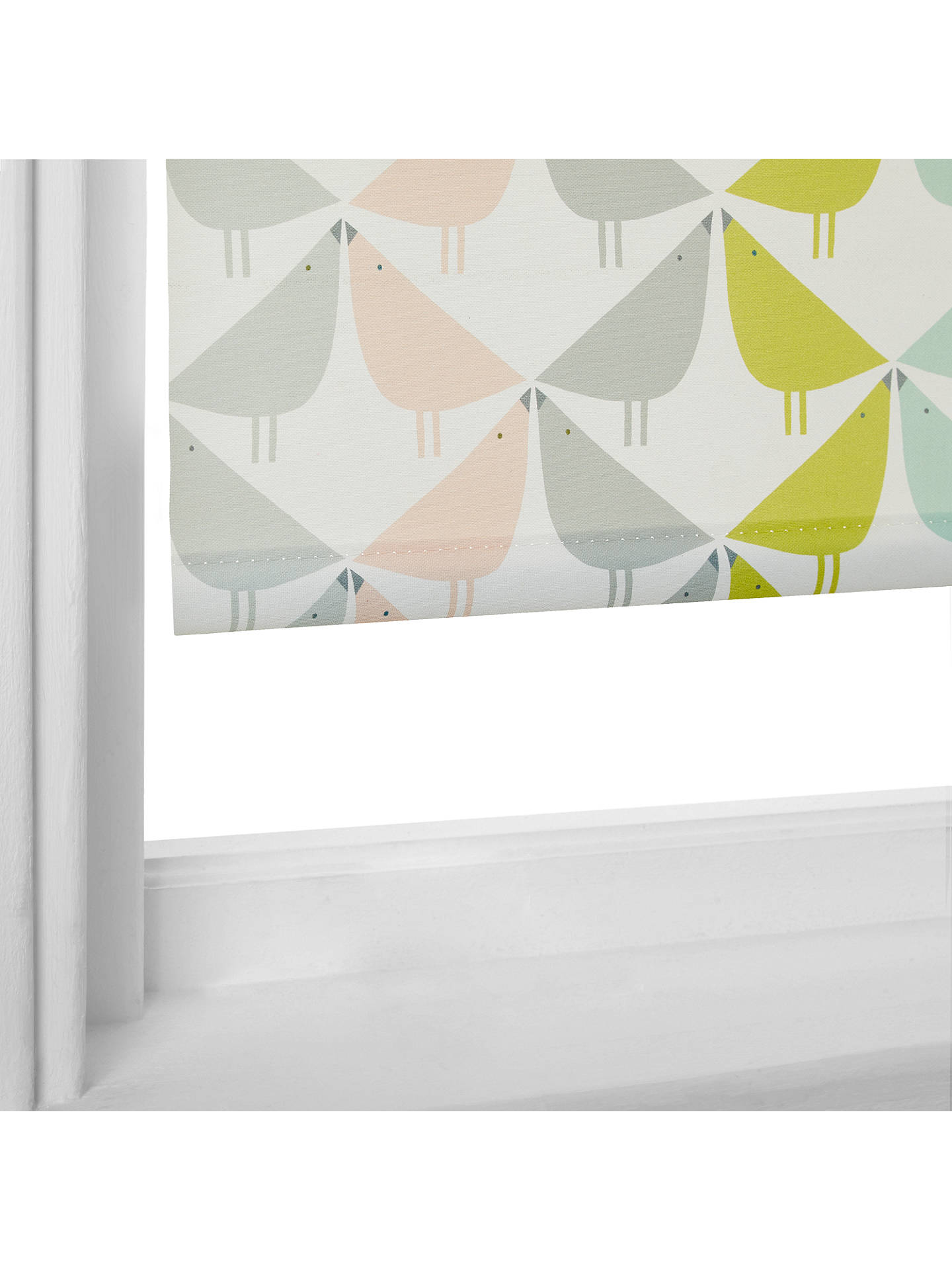 BuyScion Lintu Stripe Roller Blind, Multi, W61 x Drop 160cm Online at johnlewis.com