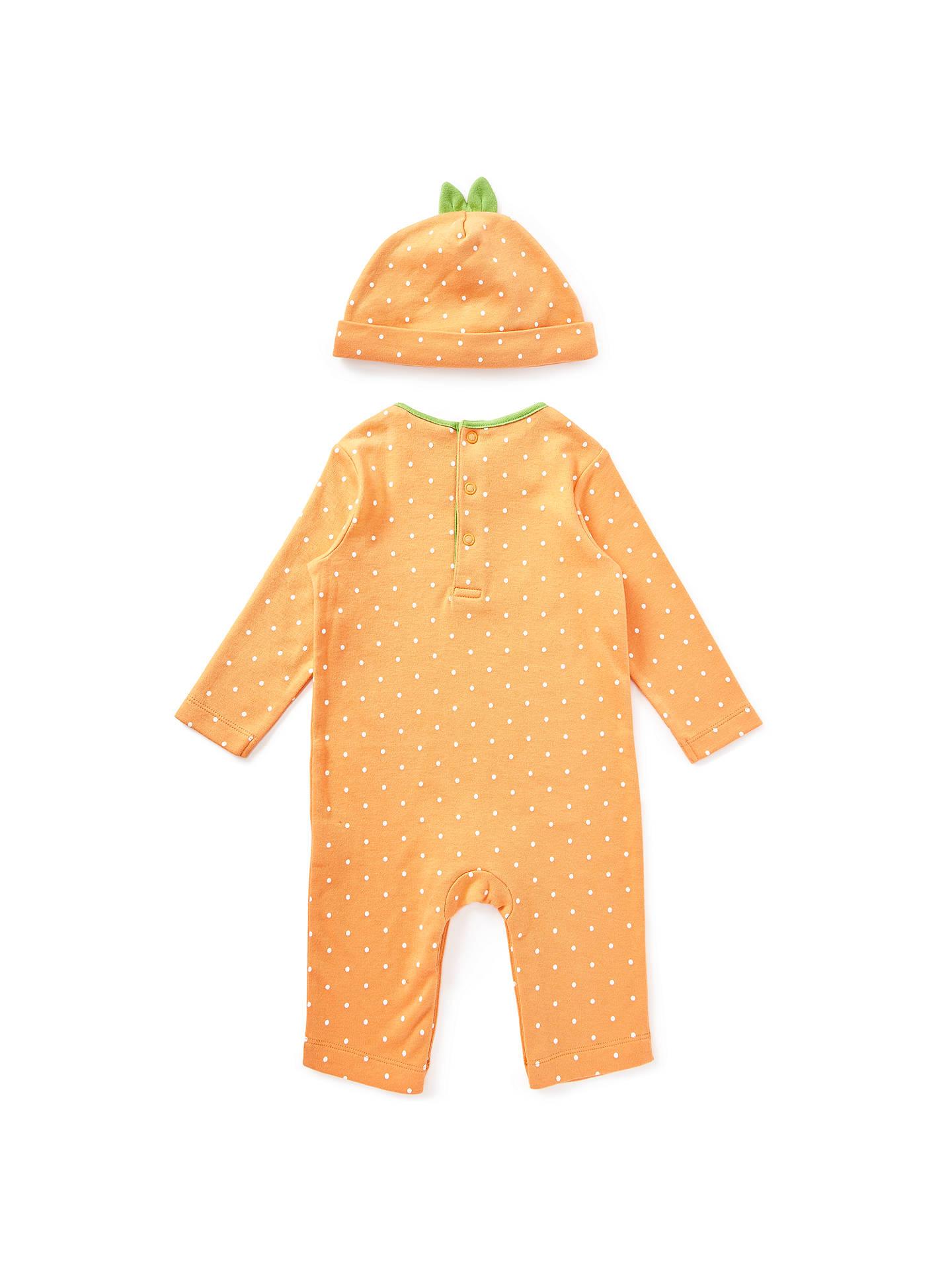 Pottery Barn Kids Halloween Childrens Pumpkin costume BABY 0-3 MONTHS baby 4 pc