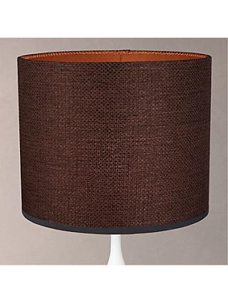 Design Project by John Lewis No.178 Weaved Lampshade, Brown