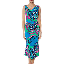 Buy Gina Bacconi Kelsie Tropical Print Dress, Multi Online at johnlewis.com