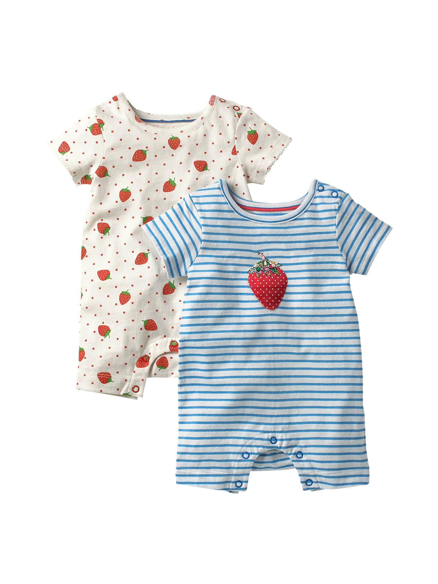 7a22ff26557 Buy Mini Boden Baby Strawberry Romper