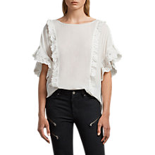 Buy AllSaints Isa T-Shirt Online at johnlewis.com