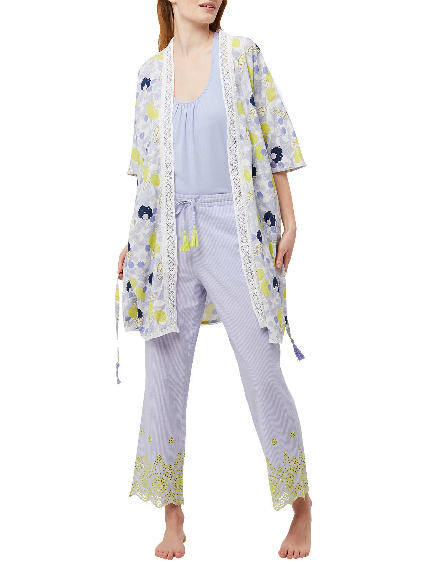 904256ab7b BuyWhite Stuff Amelie Lemon Dressing Gown