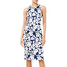 Buy Adrianna Papell Daisy Field Sleeveless Bodycon Dress, Navy/Ivory Online at johnlewis.com
