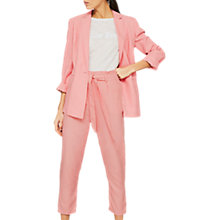 Buy Mint Velvet Blazer, Light Pink Online at johnlewis.com