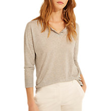 Buy Gerard Darel Palerme T-Shirt, Grey Online at johnlewis.com