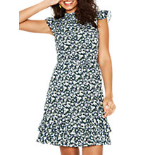 Buy Oasis Ditsy High Neck Skater Dress, Multi Online at johnlewis.com