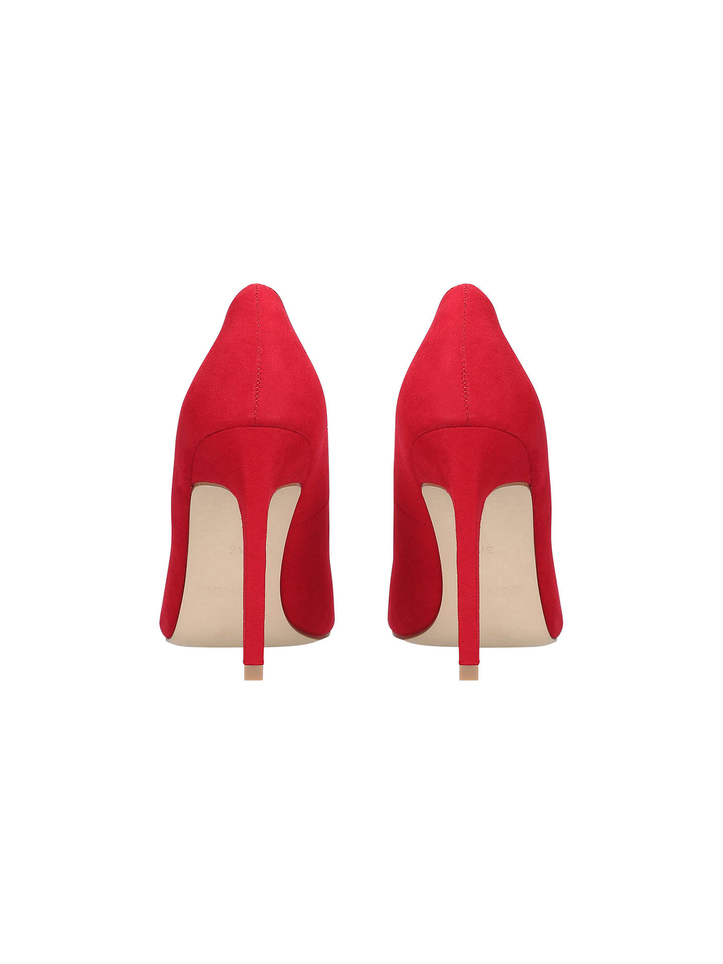 Buy Carvela Kestral 2 Stiletto Court Shoes, Red, 3 Online at johnlewis.com