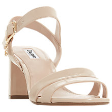 Buy Dune Meggan Block Heel Sandals Online at johnlewis.com