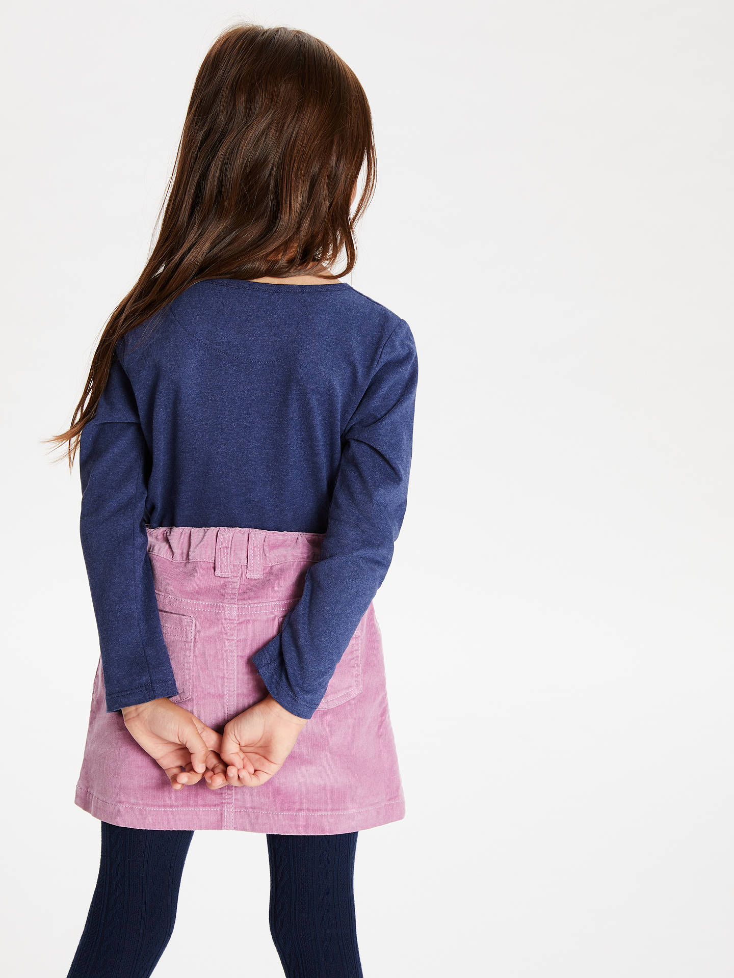 Buy John Lewis & Partners Girls' Long Sleeve T-Shirts, Pack of 3, Purple/Blue, 2 years Online at johnlewis.com