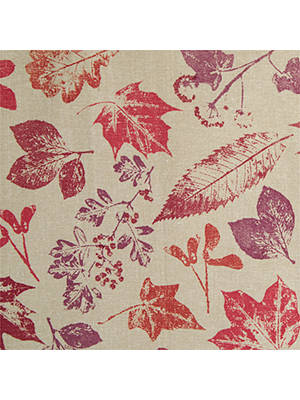 BuyJohn Lewis & Partners Autumn Leaves Tablecloth, Red, 250 x 160cm Online at johnlewis.com