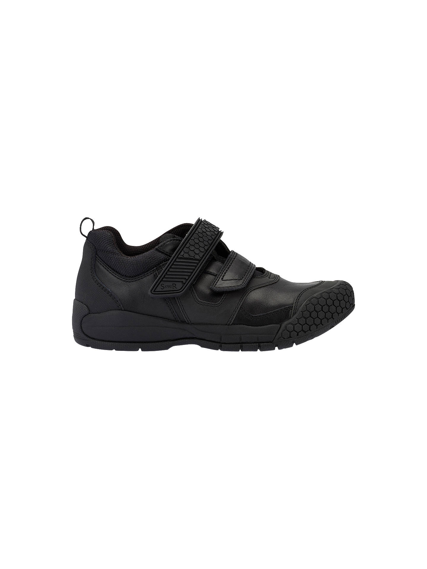 Startrite Score Boys Rip Tape Leather School Shoes