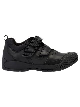Start-rite Children's Score Leather Riptape School Shoes, Black