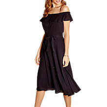 Buy Yumi Frill Bardot Dress Online at johnlewis.com