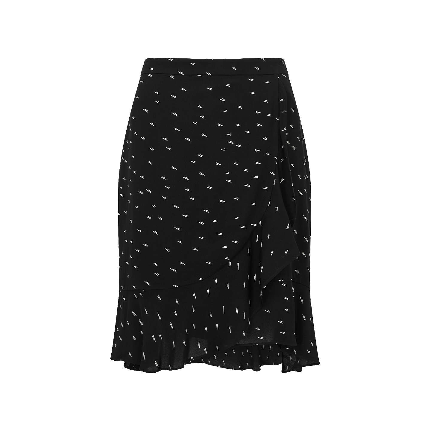 Cheap Sale Fashion Style Low Price Fee Shipping For Sale Mini Dash Wrap Skirt Jigsaw Latest Online Discount Sale Buy Cheap Huge Surprise vXCreUO