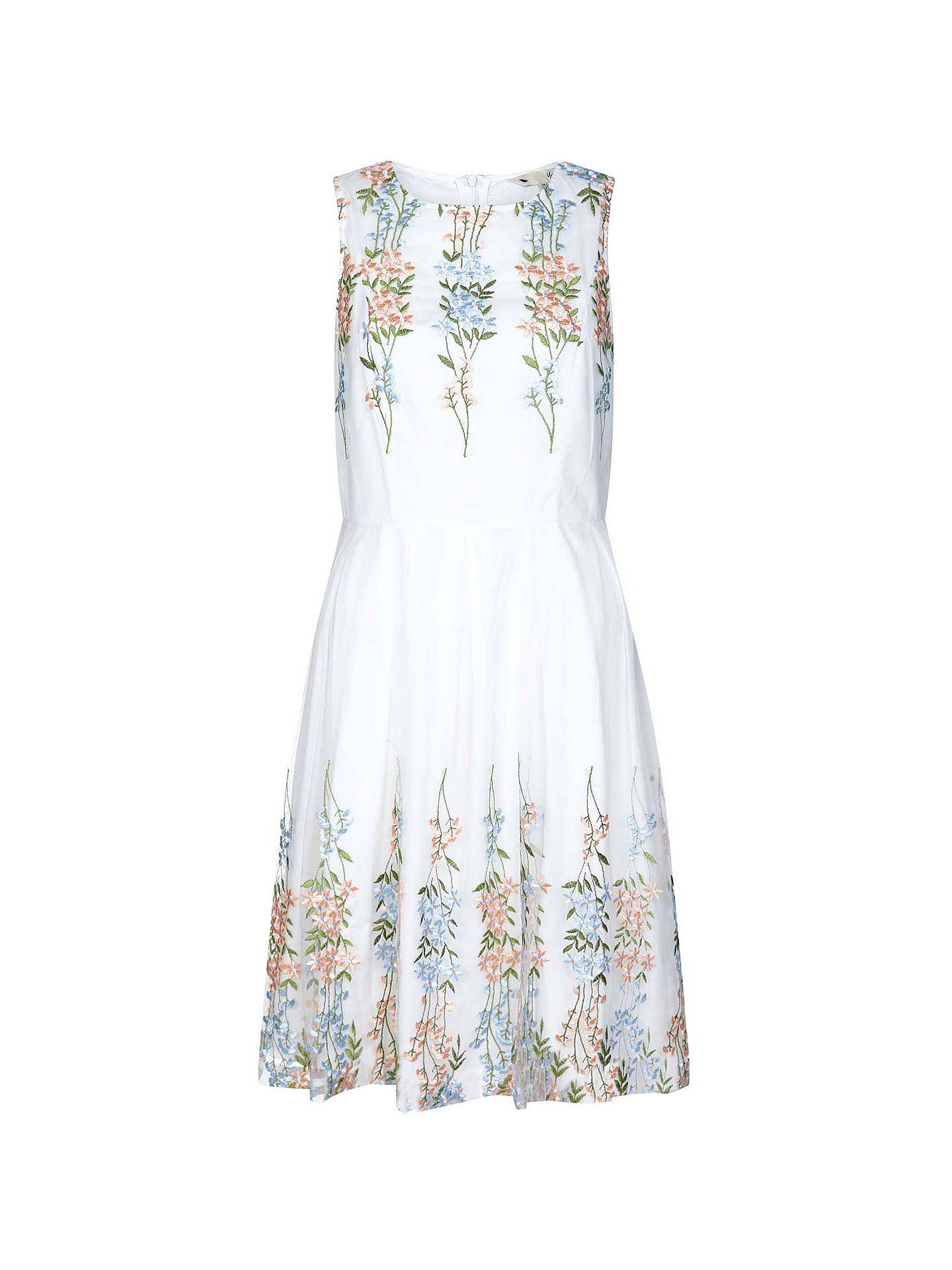 Yumi Skater Partners At John Lewisamp; Floral Dress Embroidered 7bfgyY6