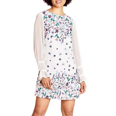 e0c581e374a Yumi Sheer Sleeve Tunic Dress