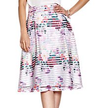 Buy Yumi Floral Fishnet Skirt, Multi Online at johnlewis.com