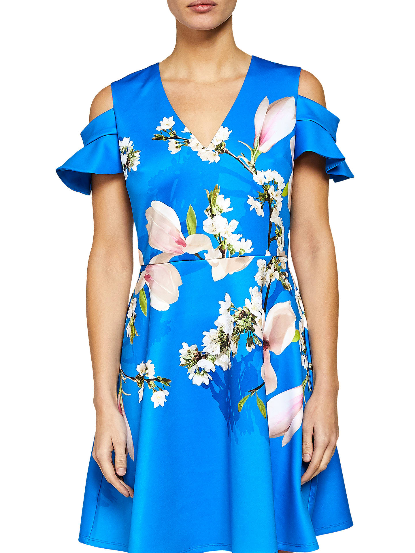 b8b02f83c Buy Ted Baker Harmony Cold Shoulder Dress