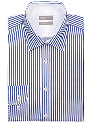 Jaeger Bengal Stripe Regular Fit Shirt, Blue